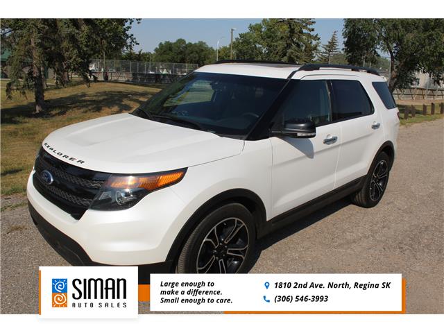 2014 Ford Explorer Sport (Stk: CC2941) in Regina - Image 1 of 26
