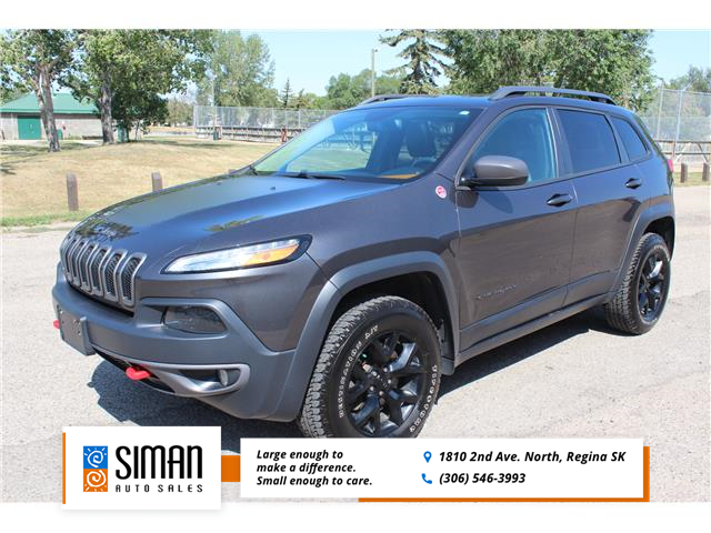 2015 Jeep Cherokee Trailhawk (Stk: CC2940) in Regina - Image 1 of 30