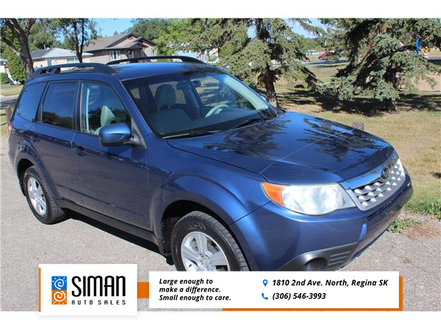 2011 Subaru Forester 2.5 X Convenience Package (Stk: P1909) in Regina - Image 1 of 17
