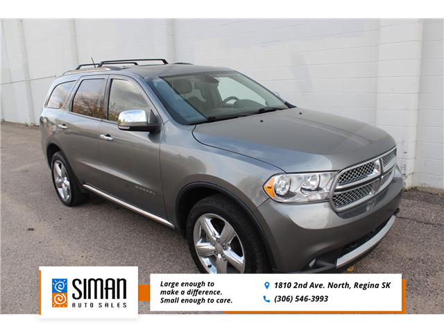 2012 Dodge Durango Citadel (Stk: P1944) in Regina - Image 1 of 27