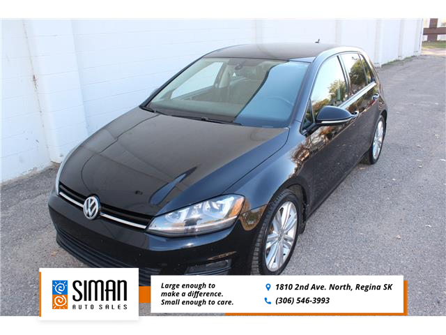 2015 Volkswagen Golf 2.0 TDI Highline (Stk: P1937) in Regina - Image 1 of 25