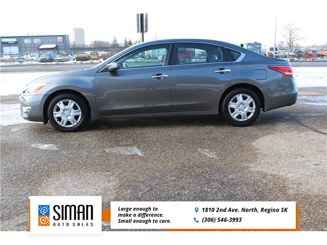 2014 Nissan Altima 2.5 S (Stk: w103) in Regina - Image 1 of 9