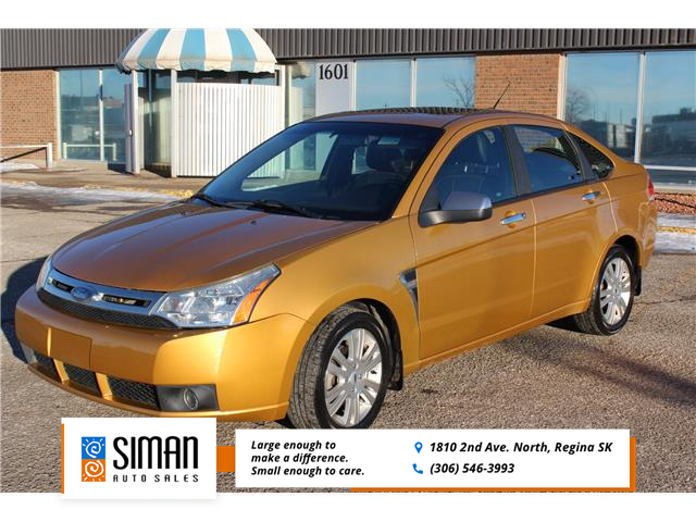 2009 Ford Focus SEL (Stk: CBK2951) in Regina - Image 1 of 16