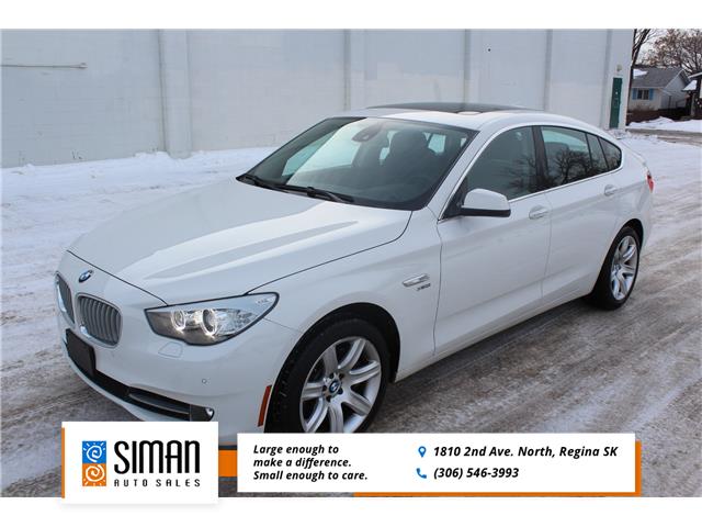 2010 BMW 550i xDrive Gran Turismo (Stk: P1993) in Regina - Image 1 of 27