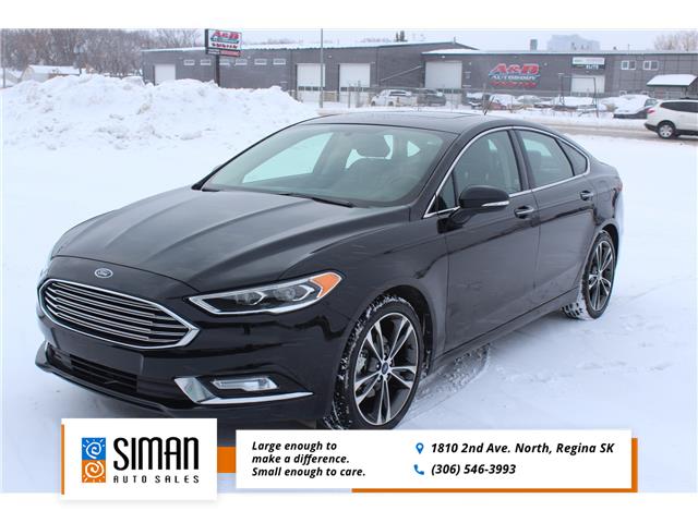 2018 Ford Fusion Titanium (Stk: P2000) in Regina - Image 1 of 19
