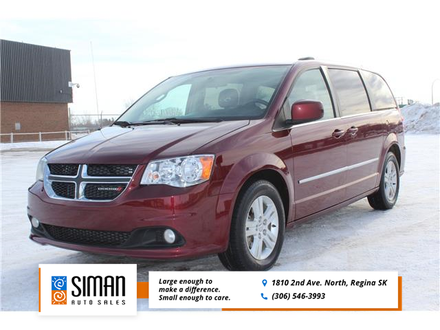 2017 Dodge Grand Caravan Crew (Stk: w119) in Regina - Image 1 of 20