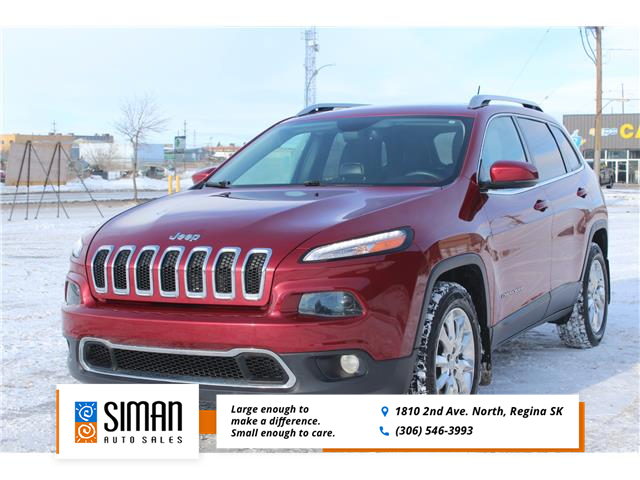 2015 Jeep Cherokee Limited (Stk: P2006) in Regina - Image 1 of 26