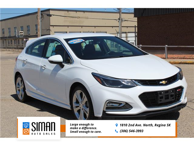 2017 Chevrolet Cruze Hatch Premier Auto (Stk: P1998) in Regina - Image 1 of 19