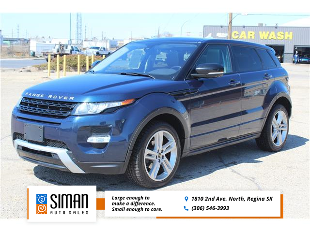 2012 Land Rover Range Rover Evoque Pure Plus (Stk: P2007) in Regina - Image 1 of 21
