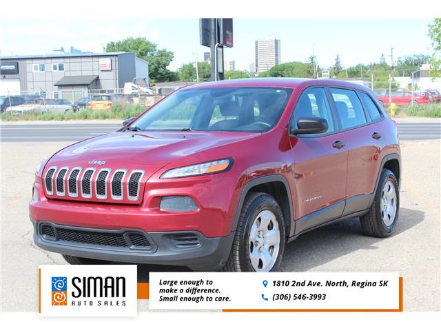 2014 Jeep Cherokee Sport (Stk: PT2100) in Regina - Image 1 of 17