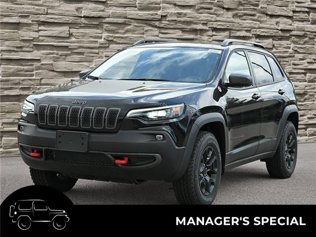2021 Jeep Cherokee Trailhawk (Stk: M1200) in Hamilton - Image 1 of 29