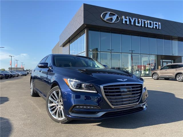 2020 Genesis G80 5.0 Ultimate (Stk: ZG20015) in Saskatoon - Image 1 of 19