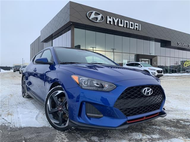 2020 Hyundai Veloster Turbo w/Two-Tone Paint (Stk: 40035A) in Saskatoon - Image 1 of 26