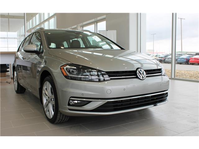 2019 Volkswagen Golf SportWagen 1.8 TSI Execline (Stk: V7596) in Saskatoon - Image 1 of 20
