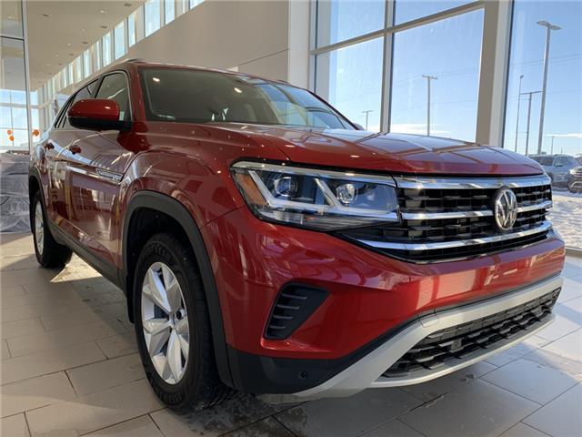 2020 Volkswagen Atlas Cross Sport 2.0 TSI Comfortline (Stk: V7603) in Saskatoon - Image 1 of 23