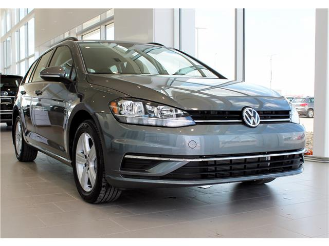 2019 Volkswagen Golf SportWagen 1.8 TSI Comfortline (Stk: V7607) in Saskatoon - Image 1 of 19