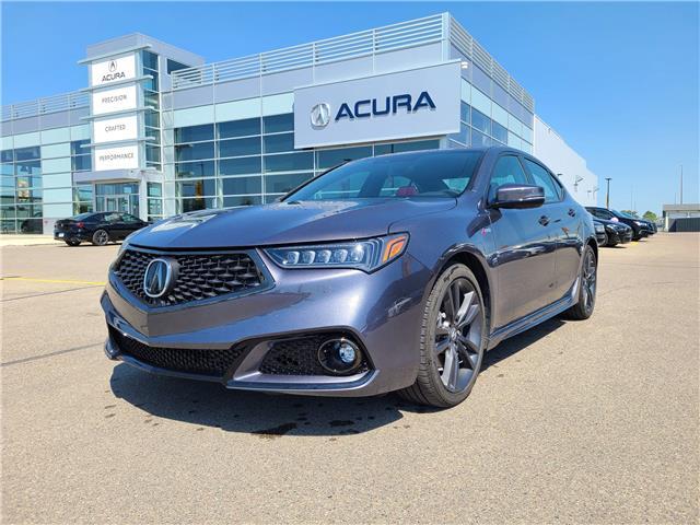 2020 Acura TLX Tech A-Spec w/Red Leather 19UUB1F67LA801134 A4478A in Saskatoon