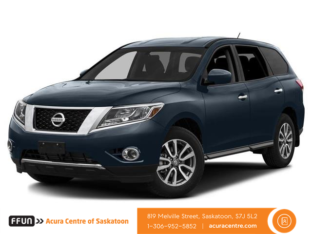 2015 Nissan Pathfinder  (Stk: F0538) in Saskatoon - Image 1 of 10