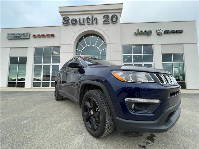 2018 Jeep Compass North (Stk: 41025A) in Humboldt - Image 1 of 10