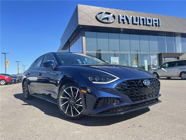 2021 Hyundai Sonata Ultimate (Stk: H3079) in Saskatoon - Image 1 of 27