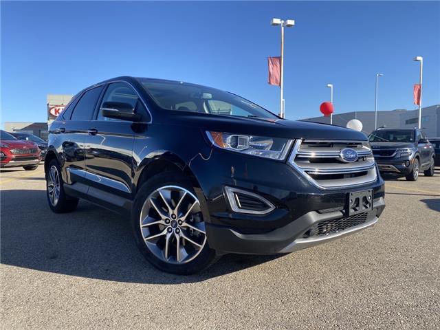2016 Ford Edge Titanium (Stk: P4927) in Saskatoon - Image 1 of 13