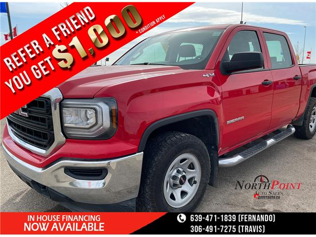 2017 GMC Sierra 1500 Base (Stk: A0149) in Saskatoon - Image 1 of 17