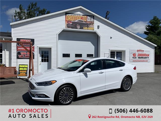 2017 Ford Fusion SE (Stk: 586) in Oromocto - Image 1 of 4