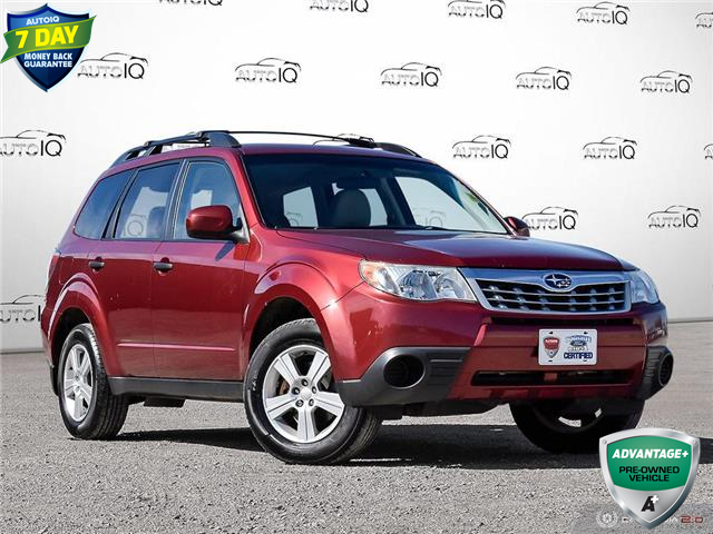 2012 Subaru Forester  Red