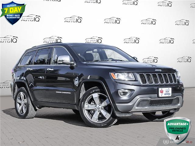 2015 Jeep Grand Cherokee Limited Blue