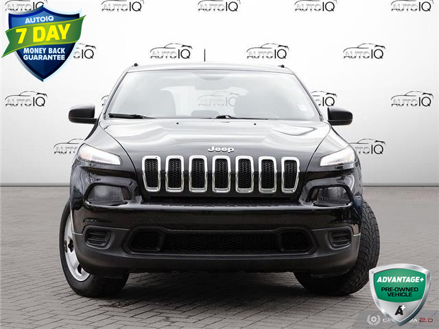 2016 Jeep Cherokee Sport (Stk: 6755BJX) in Barrie - Image 1 of 24