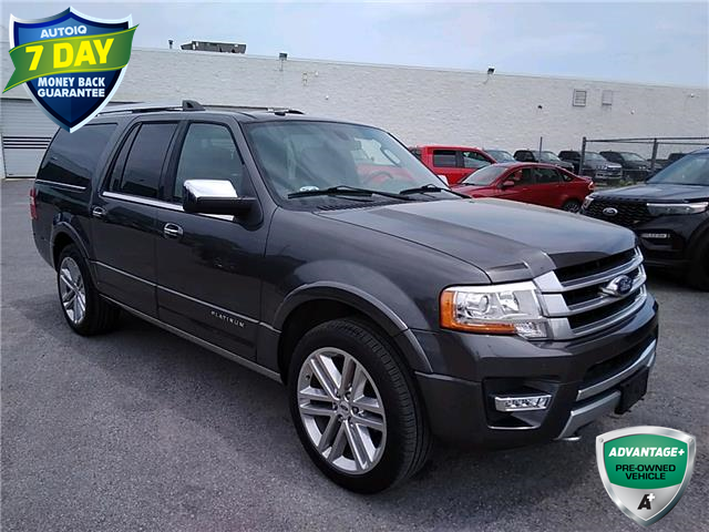 2017 Ford Expedition Max Platinum (Stk: W0327B) in Barrie - Image 1 of 30