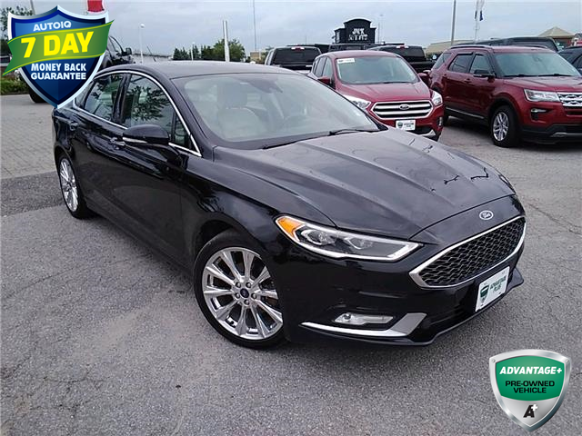 2017 Ford Fusion Platinum (Stk: W0949A) in Barrie - Image 1 of 25