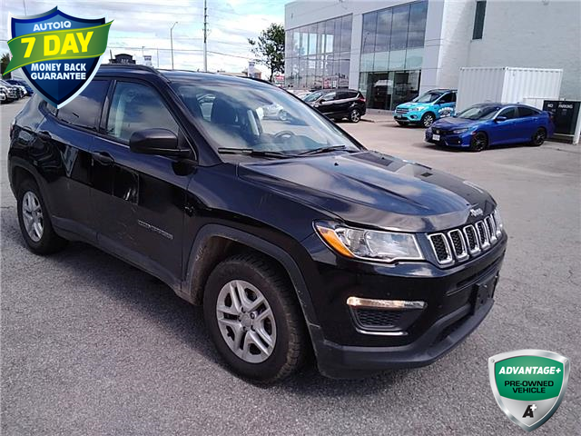 2018 Jeep Compass Sport (Stk: W0944A) in Barrie - Image 1 of 20