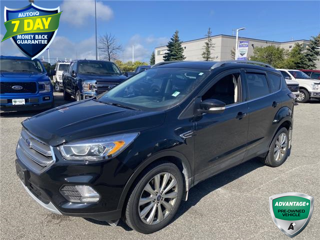 2017 Ford Escape Titanium (Stk: W0915A) in Barrie - Image 1 of 29