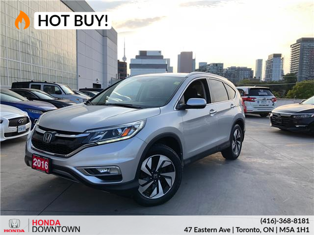 2016 Honda CR-V Touring (Stk: HP3957) in Toronto - Image 1 of 33