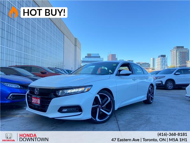 2018 Honda Accord Sport (Stk: HP3858) in Toronto - Image 1 of 30