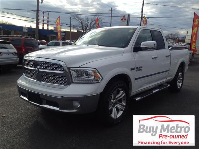 2014 RAM 1500 Laramie Quad Cab 4WD (Stk: p16-078) in Dartmouth - Image 1 of 13