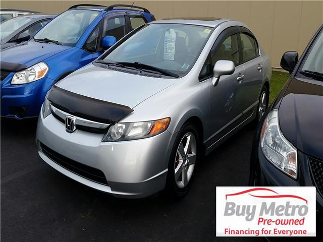 2008 Honda Civic EX-L (Stk: m15-450aa) in Dartmouth - Image 1 of 5