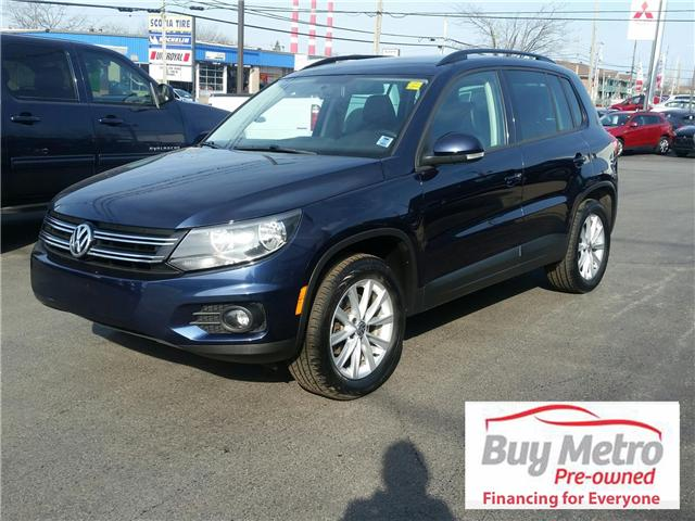 2014 Volkswagen Tiguan S (Stk: p17-059) in Dartmouth - Image 1 of 9