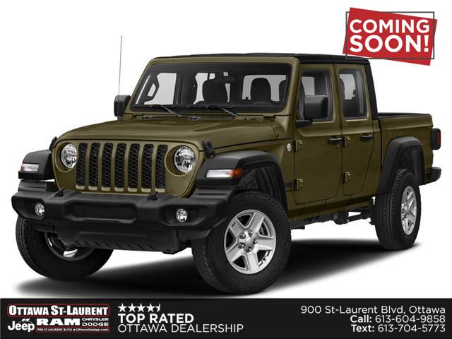 2021 Jeep Gladiator Sport S (Stk: ) in Ottawa - Image 1 of 9