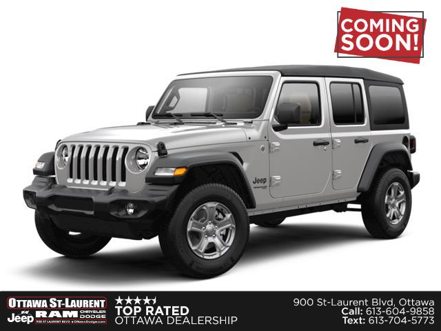 New 2021 Jeep Wrangler Unlimited Sport  - Ottawa - Ottawa St-Laurent Jeep & RAM