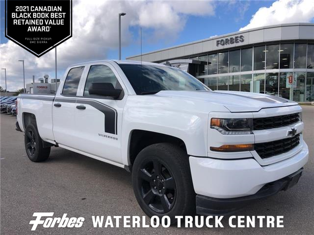 2018 Chevrolet Silverado 1500 Silverado Custom (Stk: 206224) in Waterloo - Image 1 of 25