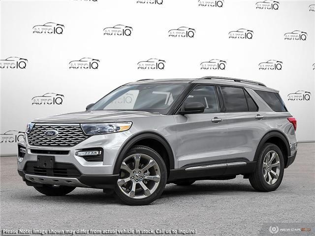 2020 Ford Explorer Platinum Silver