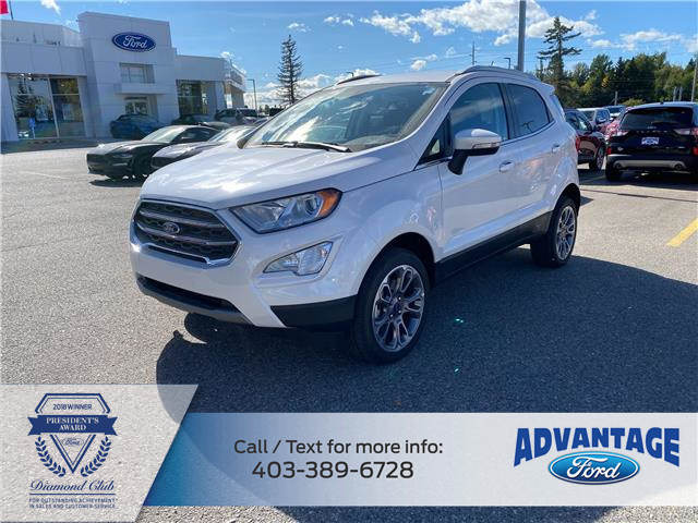 2020 Ford EcoSport Titanium (Stk: L-1198) in Calgary - Image 1 of 5
