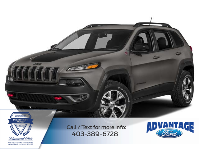 2016 Jeep Cherokee Trailhawk (Stk: L-1336A) in Calgary - Image 1 of 10