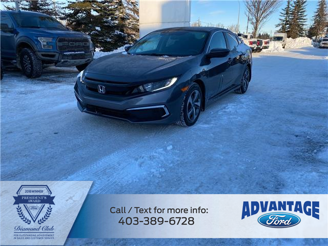 2019 Honda Civic LX (Stk: L-1601A) in Calgary - Image 1 of 19
