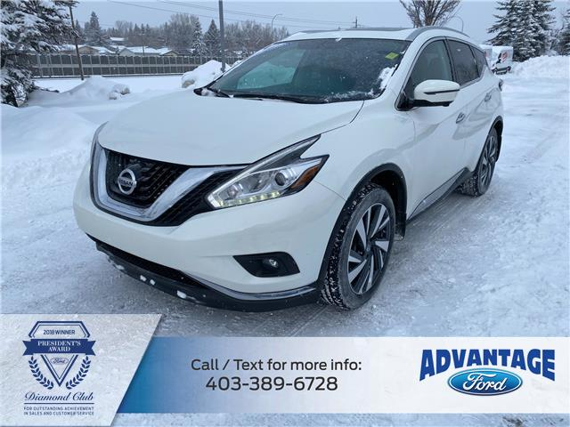 2017 Nissan Murano Platinum (Stk: L-860A) in Calgary - Image 1 of 25