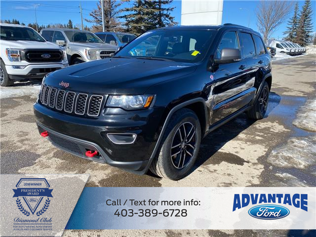 2017 Jeep Grand Cherokee Trailhawk (Stk: L-057A) in Calgary - Image 1 of 26