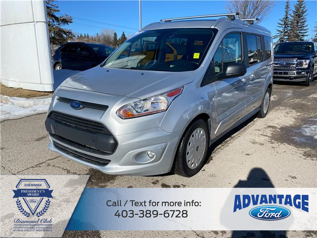 2017 Ford Transit Connect XLT (Stk: L-1629A) in Calgary - Image 1 of 21