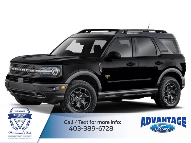 2021 Ford Bronco Sport Base (Stk: M-226) in Calgary - Image 1 of 2